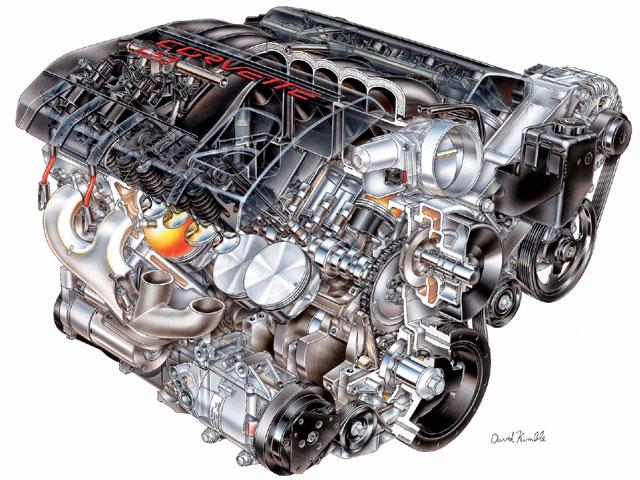 2015 Corvette Engine